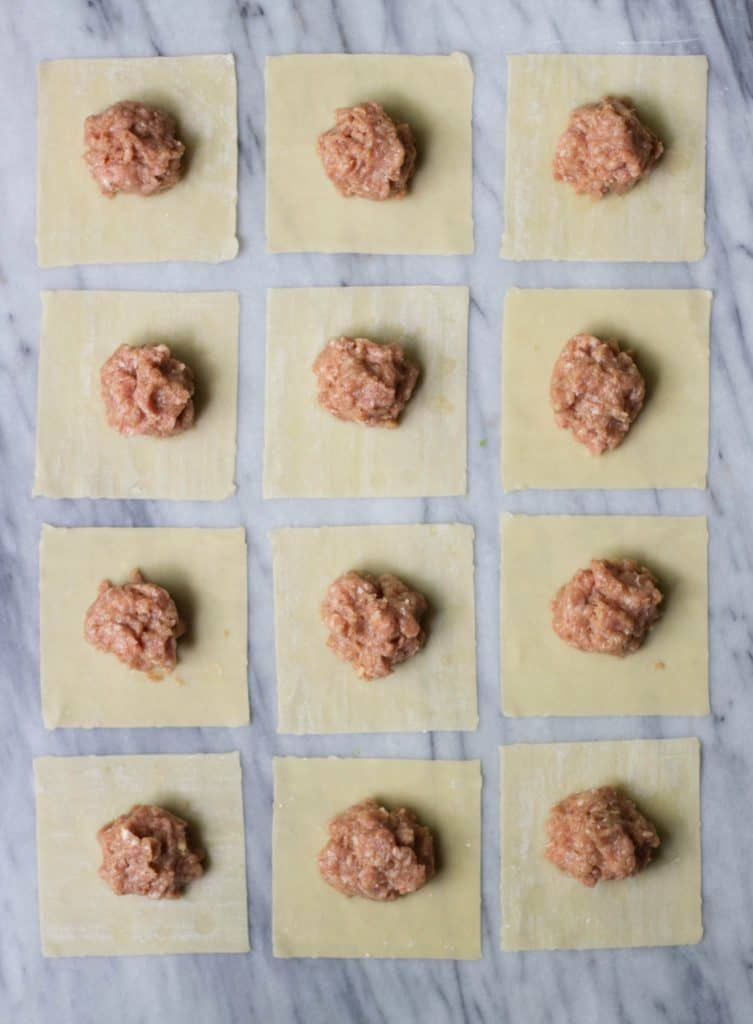 Filling for Chinese pork shumai