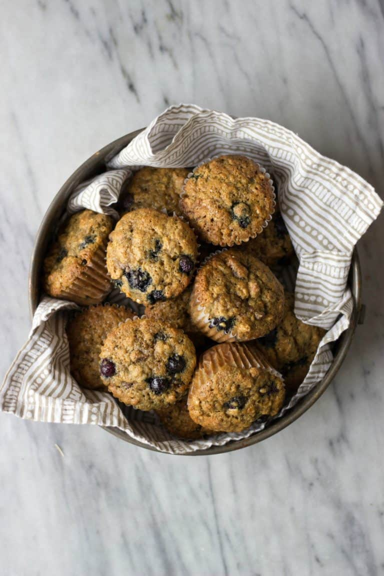 Blueberry Date Muffins