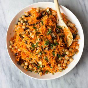 Carrot, Chickpea & Raisin Salad