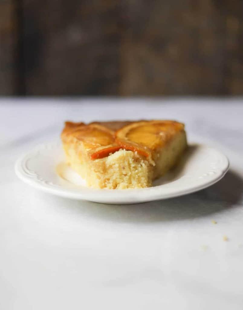 Cornmeal-Ricotta Upside-Down Cake