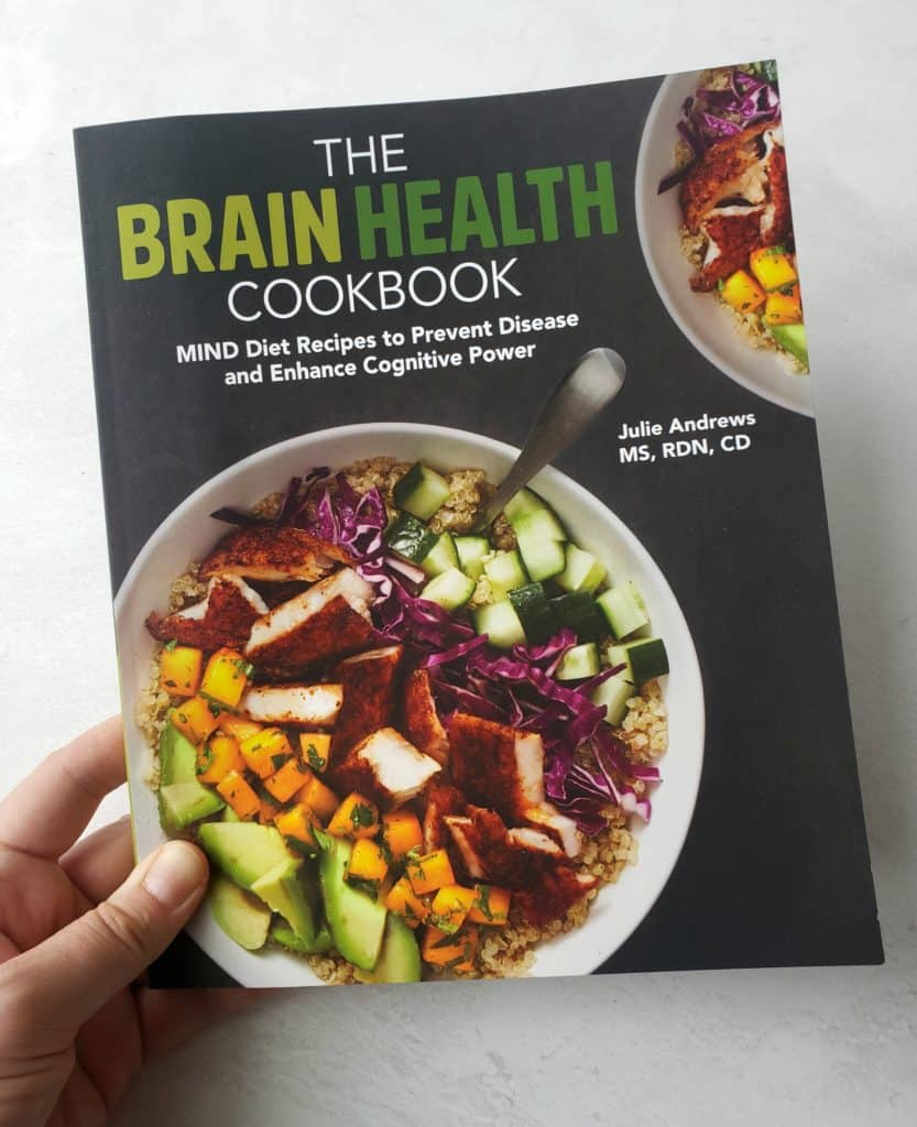 The Brain Health Cookbook cover page