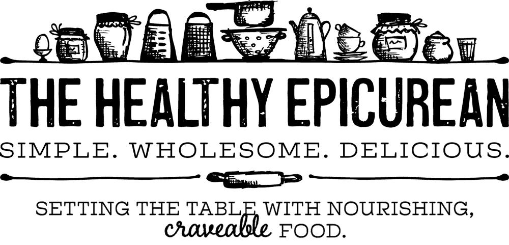The Healthy Epicurean logo